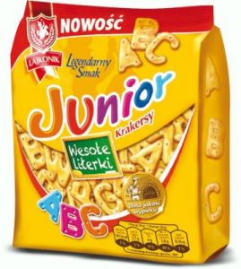 JUNIOR WESOLE LITERKI140G